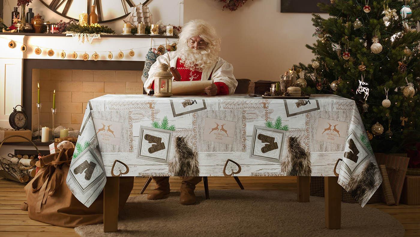 wachstuchtischdecke weeihnachten