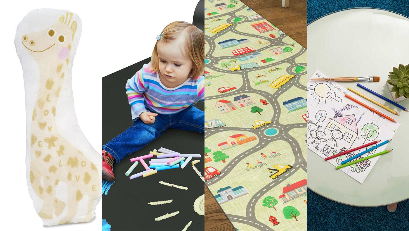 Kinder Spielsachen Tischdecke