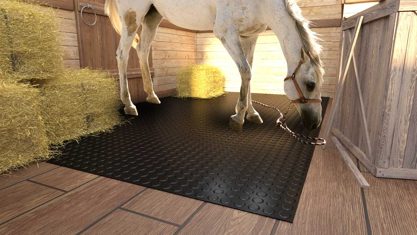 gummimatten pferdeanhänger